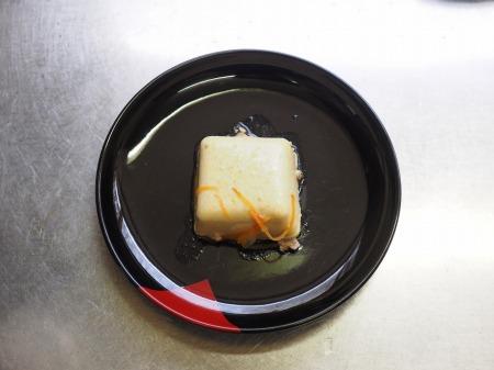 カレー豆腐のキーマあんかけ020
