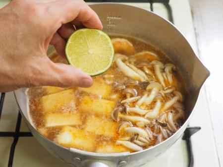 カレー豆腐のエスニックスープ026