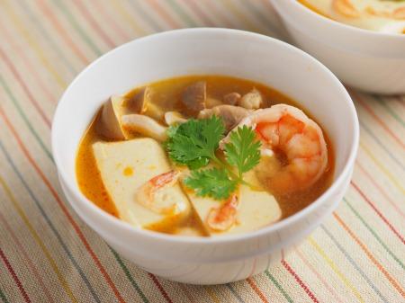 カレー豆腐のエスニックスープ028