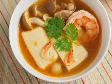 カレー豆腐のエスニックスープ037