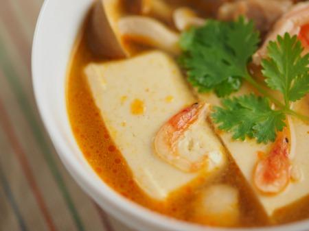 カレー豆腐のエスニックスープ042