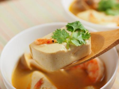 カレー豆腐のエスニックスープ046