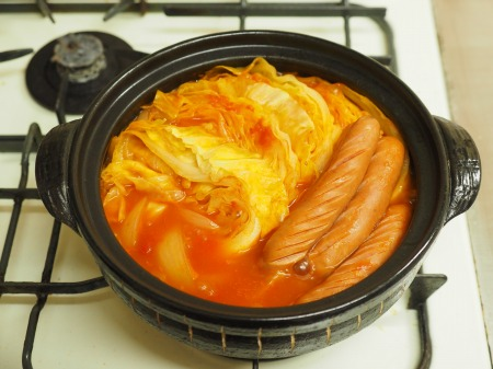 雷豆腐 トマト湯豆腐014