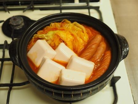 雷豆腐 トマト湯豆腐015