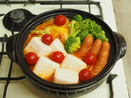 雷豆腐 トマト湯豆腐016