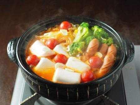 雷豆腐 トマト湯豆腐044