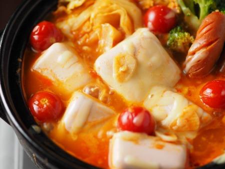 雷豆腐 トマト湯豆腐026