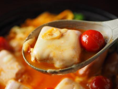 雷豆腐 トマト湯豆腐035