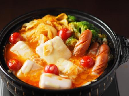 雷豆腐 トマト湯豆腐030