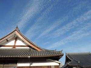 本行寺の空blog01