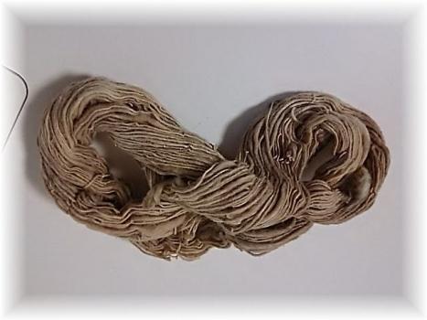 洋綿が変わった色