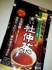 「小林製薬の濃い杜仲茶」小林製薬