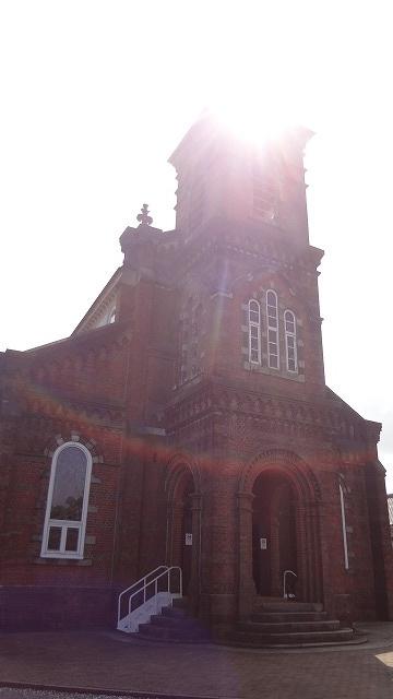 田平教会の光