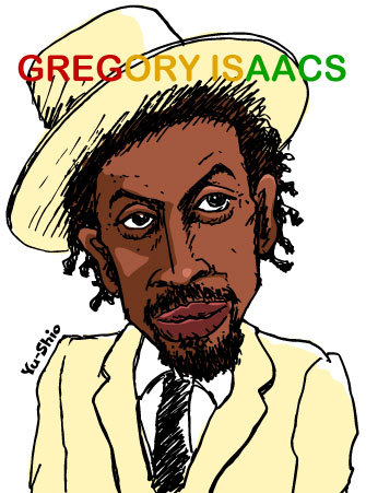 Gregory Isaacs caricature likeness