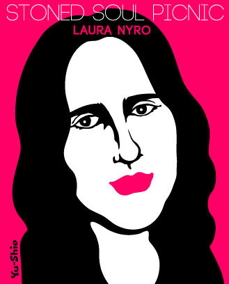 Laura Nyro caricature likeness