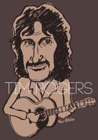 Tim Rogers caricature likeness