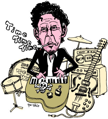 Tom Waits caricature likeness