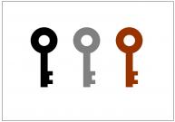 鍵(KEY)のフリー素材テンプレート・画像・イラスト