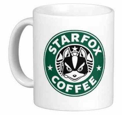 StarfoxコーヒーStarbucksパロディマグ–面白いギフトマグ