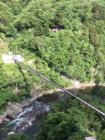 楯岩大吊橋
