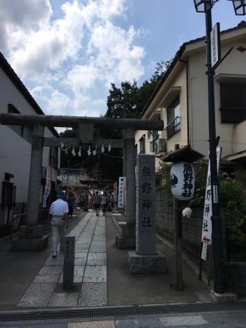 川越熊野神社1