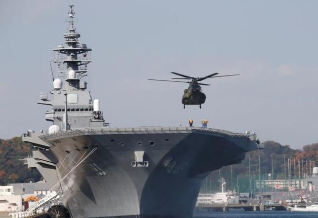 海自最大の護衛艦「いずも」、南シナ海で長期活動へ=関係者