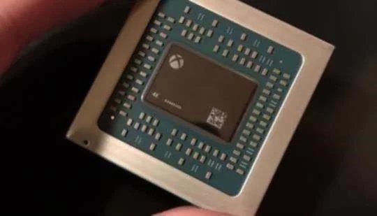 マイクロソフトがAMDと共同で開発したスコルピオ専用のGPUの画像を公開!4Kの文字が…