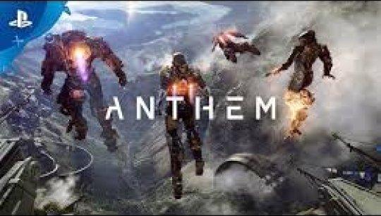 PS4版「Anthem」ゲームプレイ、Xbox One Xのプレイ映像の加工