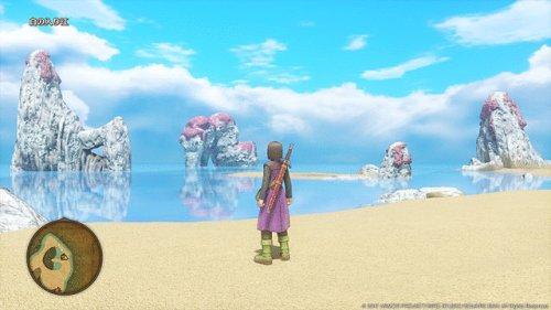 『ドラクエ11』 PS4「水がキレイ!空がキレイ!」 3DS「時渡り!すれ違い!元祖ドラクエの絵柄!!」