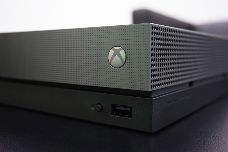 xbox one x scorpio power