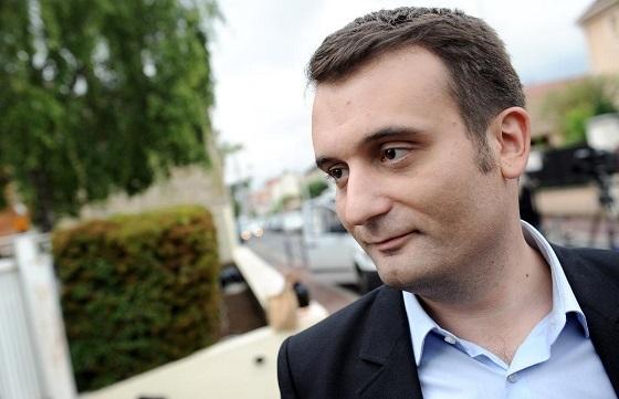 極右FN副党首、フロリアン・フィリポ