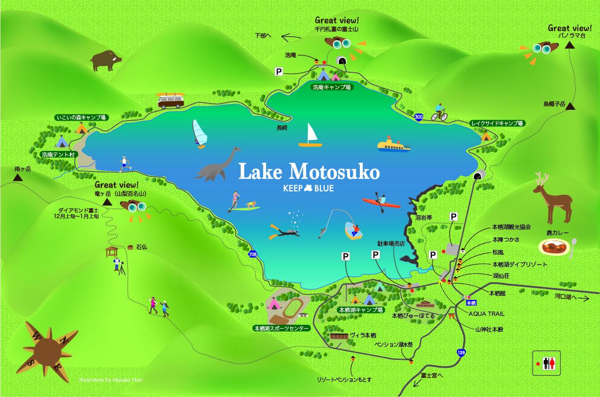 web用本栖湖マップ2