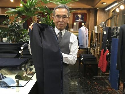 エドウィンウッドハウスのオーダースーツ用服地サマーセール