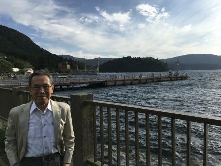 芦ノ湖にて2017年9月