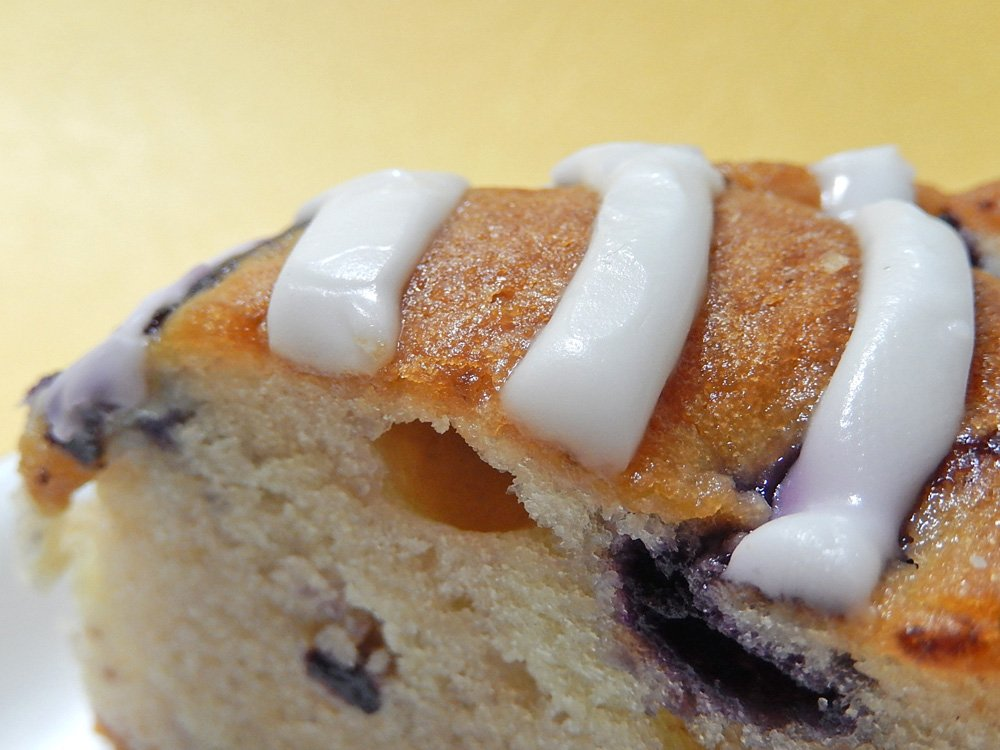 ブルーベリーのカントリーケーキ