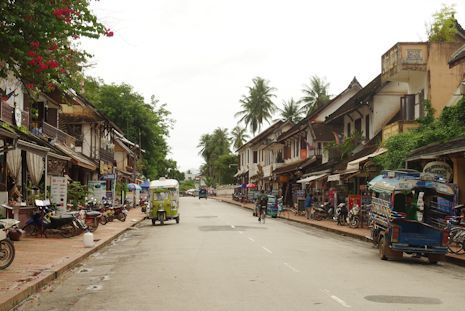 ルアンパバーンの街並み