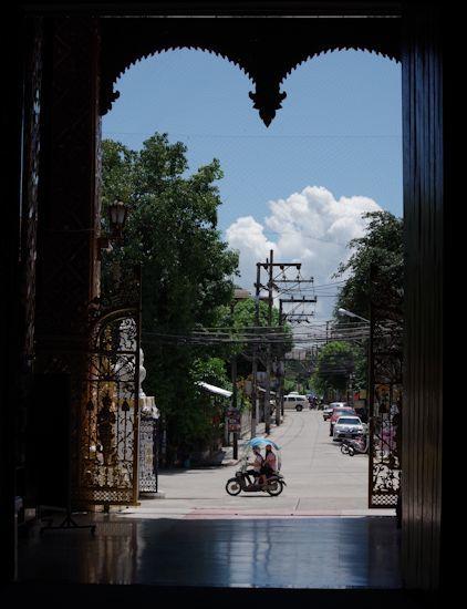チェンライ市街地