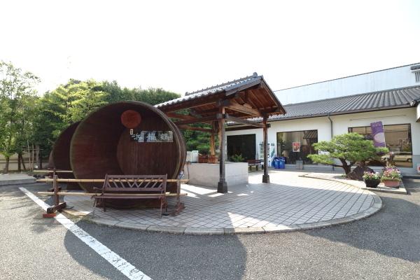 浜福鶴吟醸工房桶
