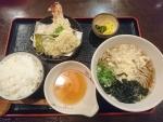 天ぷら定食@そば処善作家