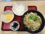 朝定食(うどん)@麺家鶴橋