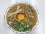 中華そば中盛肉入+生玉子(ヨード卵)
