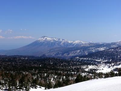 八幡平アスピーテライン 岩手山