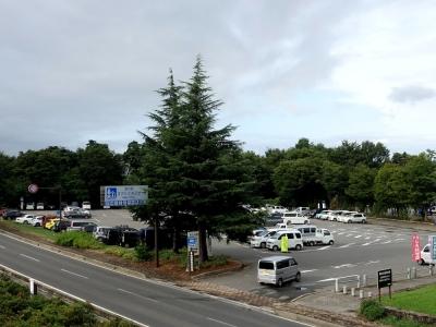 道の駅 オアシスおぶせ 駐車場
