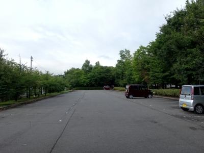 道の駅 オアシスおぶせ 公園東側の駐車場