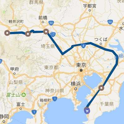 グーグルマップのタイムライン