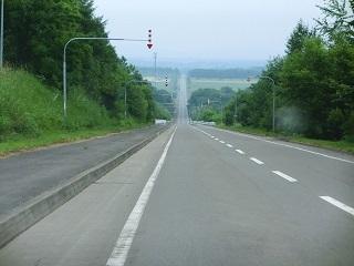 上士幌見晴らし台道路