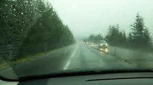 道東道豪雨