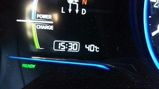 車内40℃