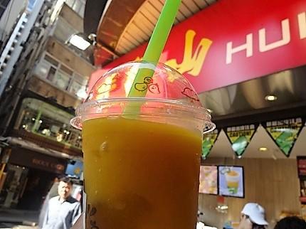 香港 マンゴージュース