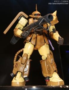 MG MS-06R-1A マサヤ・ナカガワ専用ザクII 静岡ホビーショー20170406